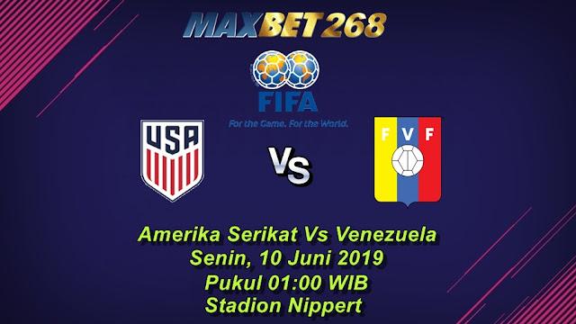 Prediksi Amerika Serikat Vs Venezuela, Senin 10 Juni 2019 Pukul 01.00 WIB