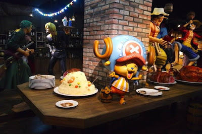 10D9N Spring Japan Trip: Feast Time at Tokyo One Piece Tower