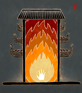 Ибн Фадлан и похороны