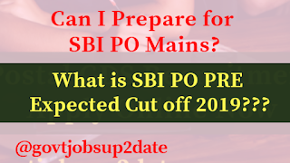 sbi po pre expected cut off