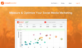 crowdbooster social media management tool top