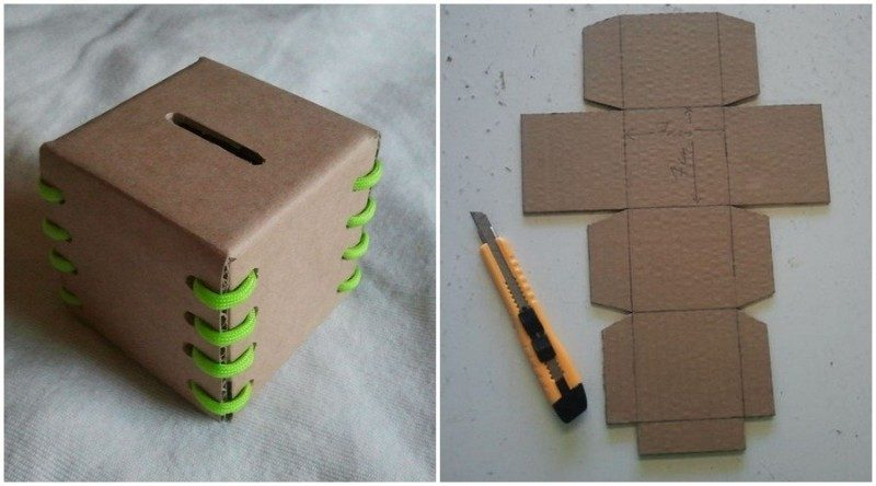 Kerajinan Dari Kardus Cara Mudah Membuat Tempat Sampah Mini Dari Kardus Bekas Cute766