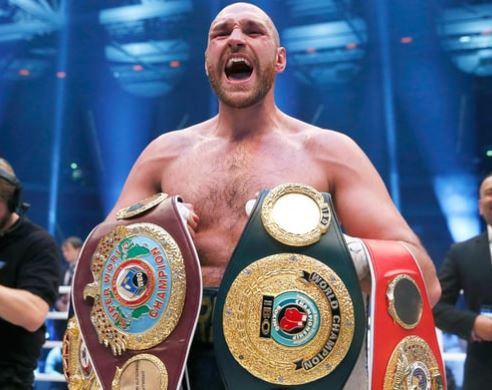 British boxer, Tyson Fury cleared to resume his boxing career after accepting a backdated two-year doping ban