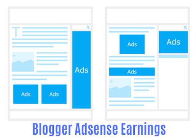 Blogger Adsense Earnings