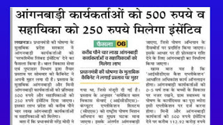 Anganwadi Bharti 2020 Apply Online Govt Job Alert