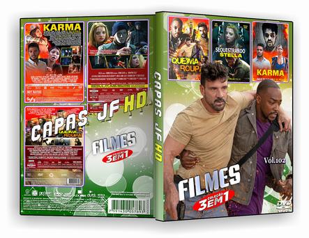 DVD Colecao filmes 3x1 vol.102 - ISO