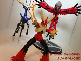 Blaziken with Xerneas and Yveltal