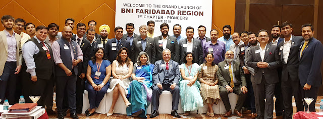 Business Network International launches new Pioneer chapter in Faridabad