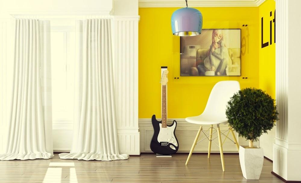 white-yellow-decor