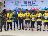 Dandim 0207/Simalungun Laksnakan Lari 10 K Siantar Runner Club