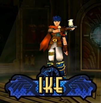 Ike amiibo in Code Name S.T.E.A.M. he looks scrawny