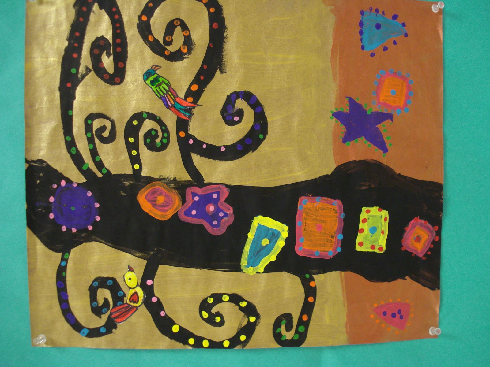 COLOR for EVERYONE: Tree of Life-Second Grade Art Lessons