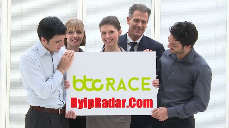 Review HYIP Btcrace - From 2% daily