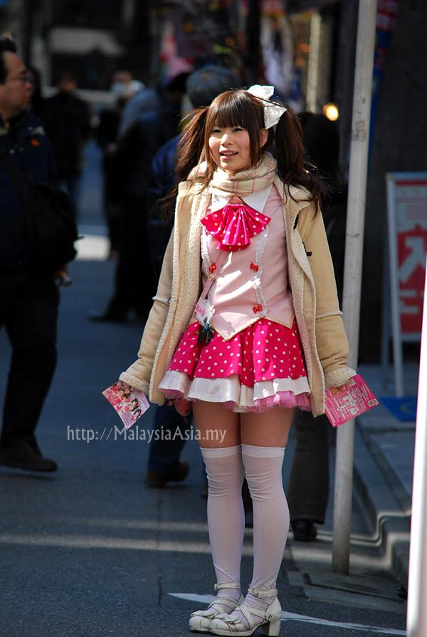 Girl in Akihabara