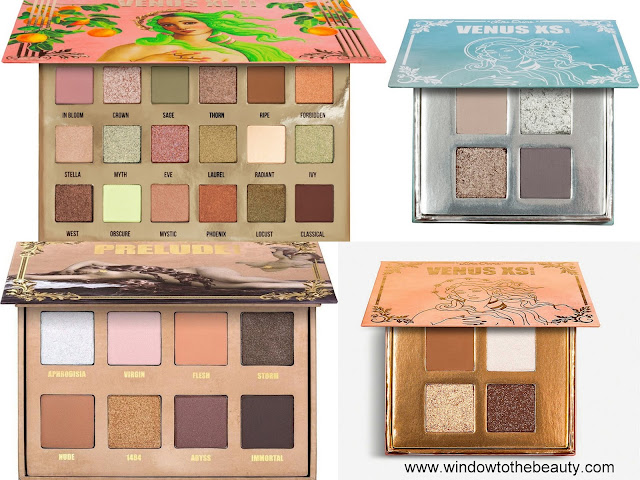 Lime Crime Neutral Eyeshadow Palettes
