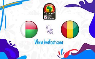 مشاهدة مباراة مدغشقر و غينيا بث مباشر
