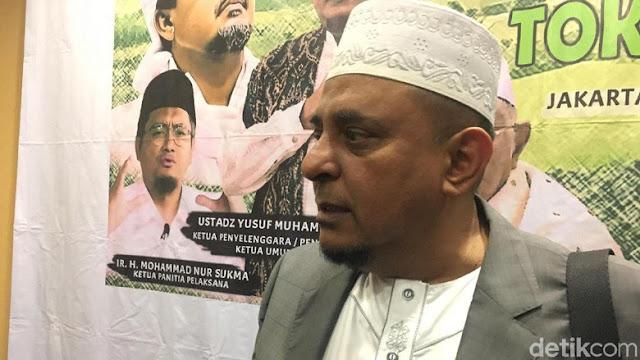 GNPF ke Kapitra: Kalau HRS Nyapres, Berani Batal Nyaleg?