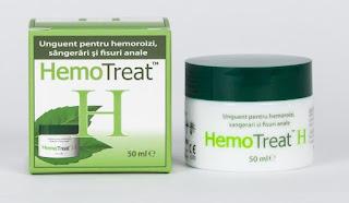 Comanda online HemoTreat H crema pt  hemoroizi