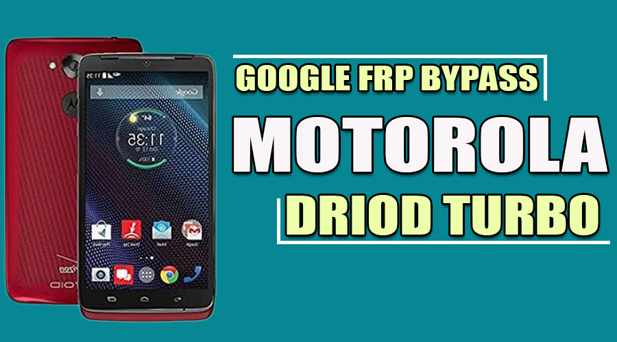 Google Account Bypass FRP ▷ Motorola Droid Turbo ▷ Android