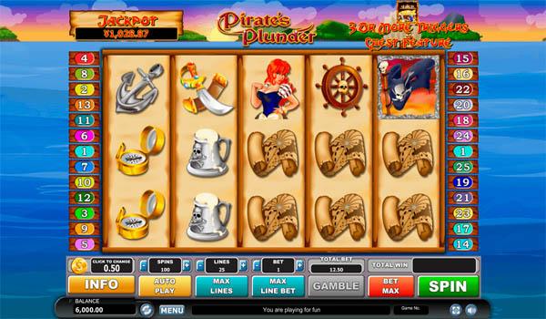 Main Gratis Slot Indonesia - Pirates Plunder Habanero