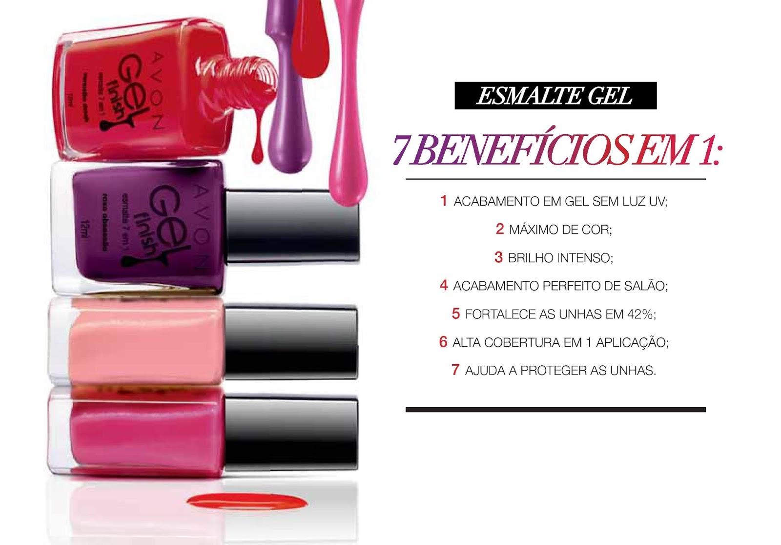 Esmalte Avon Gel Finish :: Vinho Fashion - Resenha