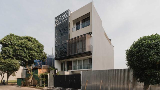 Rumah Lantai 3 Berdesain Modern