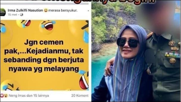 Istri yang Posting Nyinyir soal Wiranto, Kenapa Dandim Kendari Dicopot?