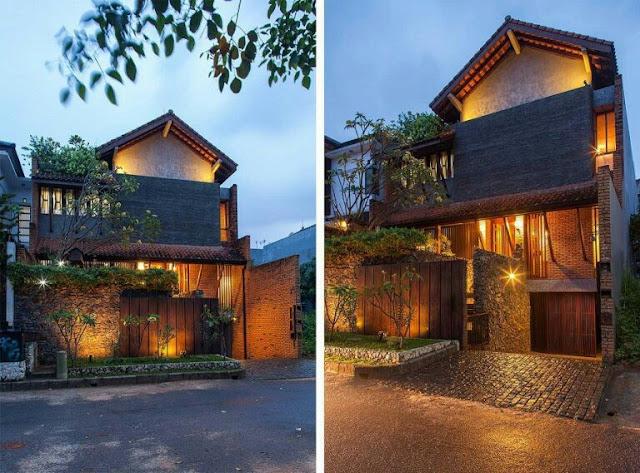 Korean style 2-storey minimalist house