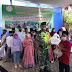 Doa Bersama dan Santunan Anak Yatim Tertib Lakukan Disiplin Protokol Kesehatan