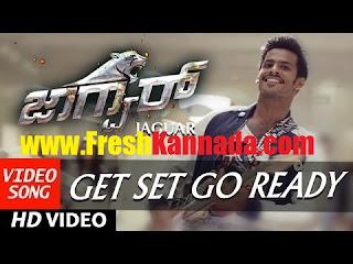 Jaguar Kannada Movie Get Set Go Ready Video Song Download