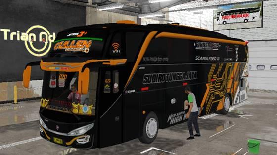 Livery Bussid STJ Cullen SHD Original