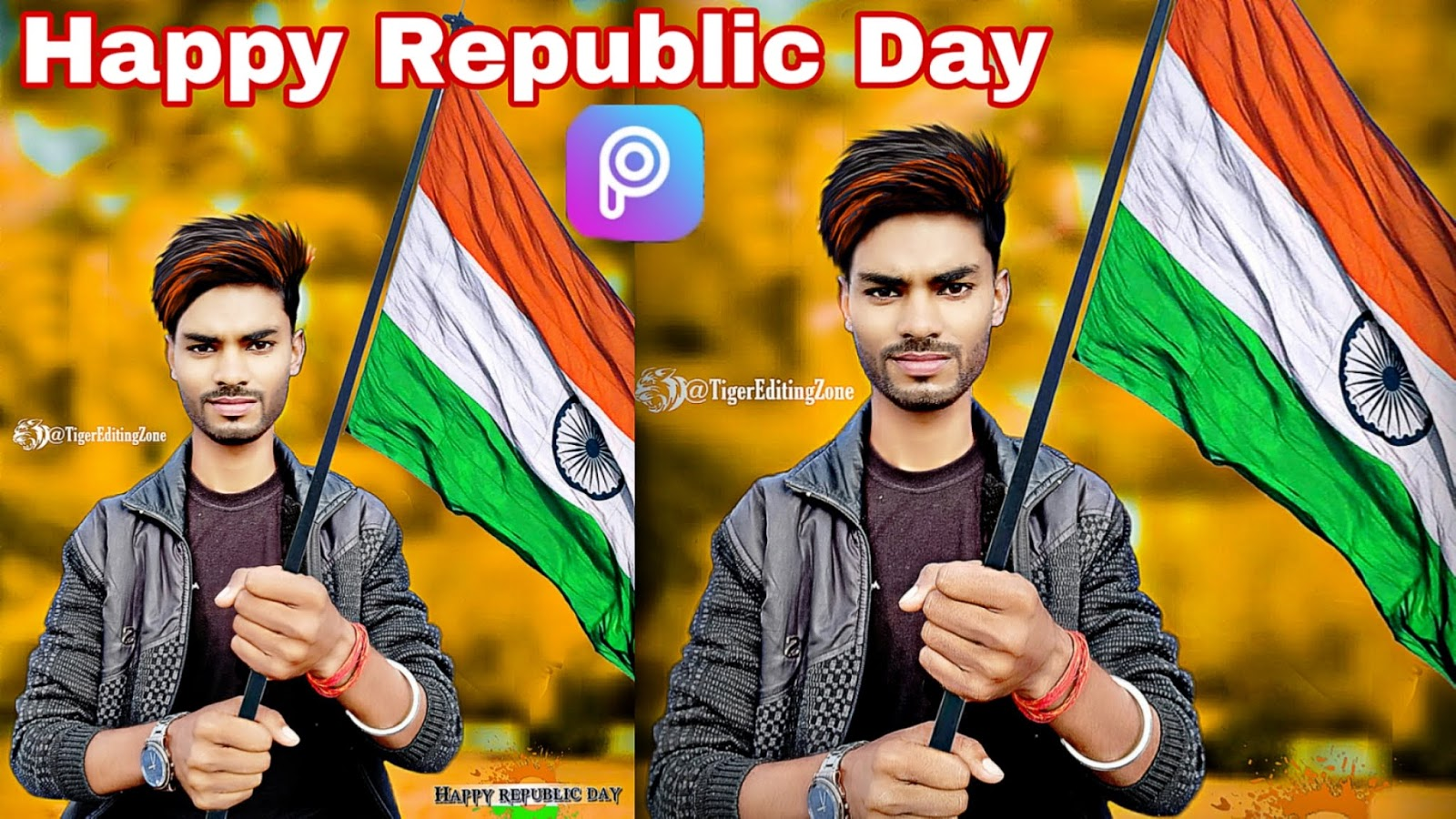 26 January (Republic day) Special Photo Editing in PicsArt