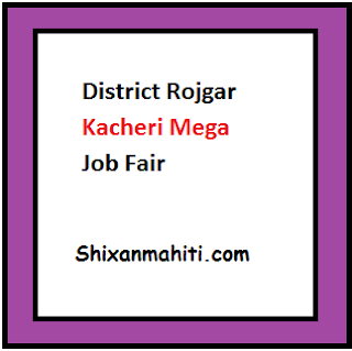 District Rojgar Kacheri Mega Job Fair