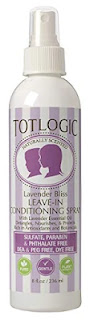 TotLogic Kids Detangler Spray and Leave In Conditioner