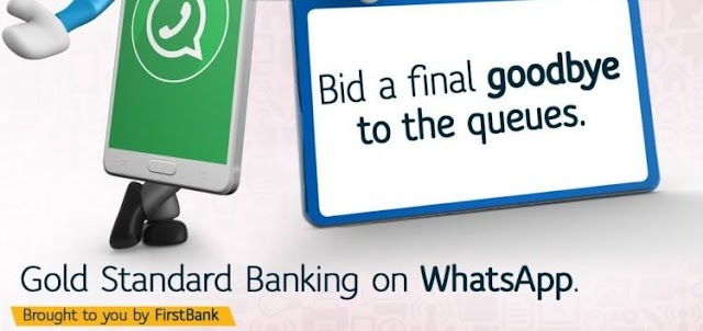How to Activate First Bank Whatsapp Chat Banking