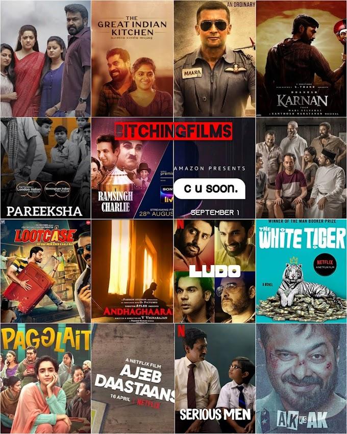 Top 25 Indian Films 2020-2021