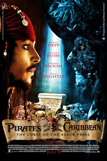Pirates of the Caribbean The Curse of the Black Pearl 2003 Dual Audio Hindi HD DD5.1Ch ESubs