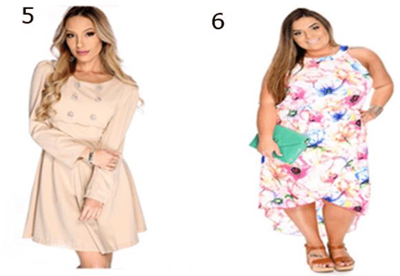 Escolhas-vestido-botões-vestido-sem-manga
