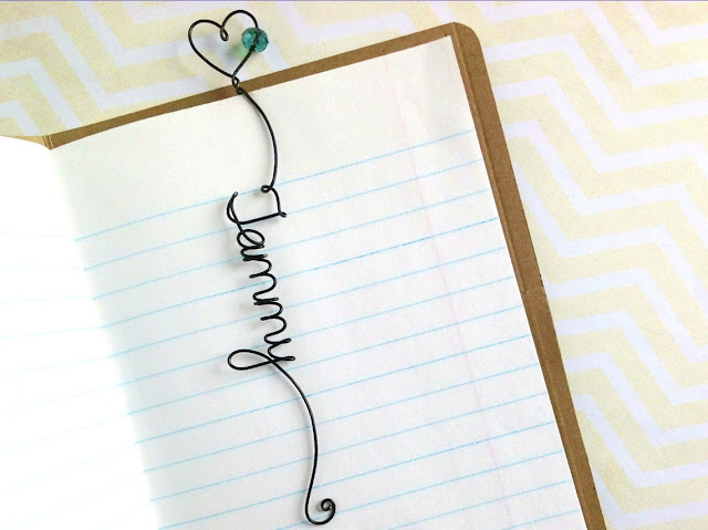 Metal Bookmark Personalized with Your Name!
