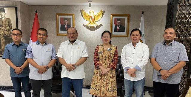 Bahas Penguatan, Pimpinan DPD RI Lakukan Rapat Konsultasi Dengan Ketua DPR RI