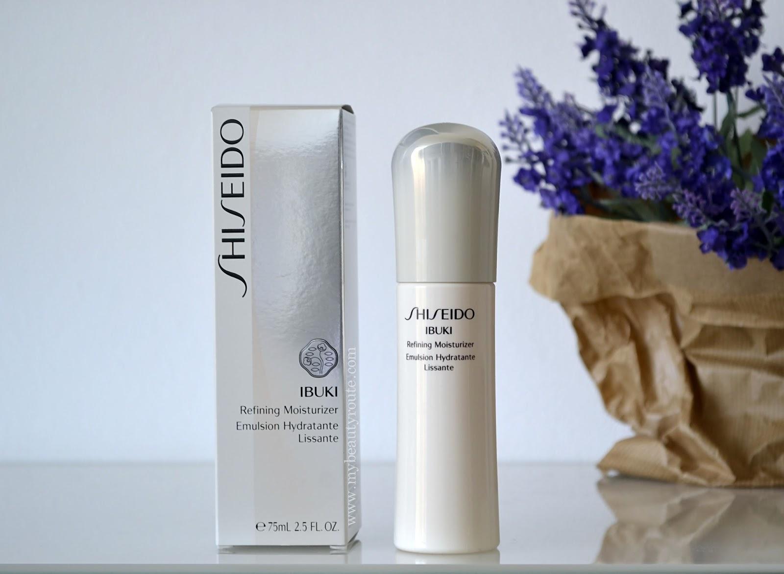 Reseña review crema hidratante Ibuki de Shiseido