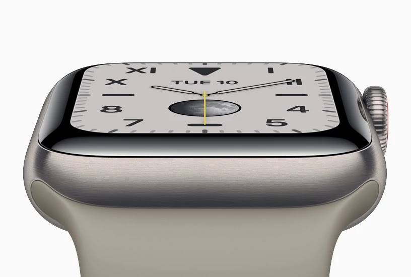 Apple Watch Series 5 Titanium