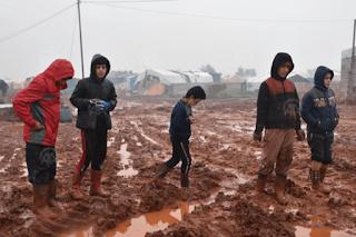 Kedinginan Akut, Puluhan Anak dan Bayi Meninggal di Kamp Pengungsi Suriah