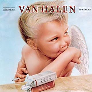 """Portada del álbum """"1984"""" de VAN HALEN"""