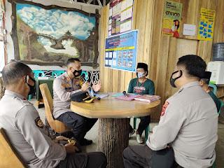 Kunjungan dan Monitoring Kampung Tangguh Massenrempulu Balla Ewako Pasui, Kapolres Enrekang Harapkan Lebih Efektif