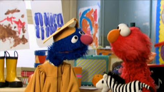 Professor Grover and Elmo talk about the importance of making friends. Sesame Street Preschool is Cool ABCs With Elmo.