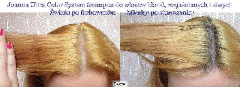 Joanna Ultra Color System Szampon do włosów blond, rozjaśnianych i siwych