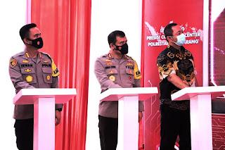 Irjen Pol Ahmad Luthfi Resmikan Aplikasi Presisi Commander Center di Polrestabes Semarang