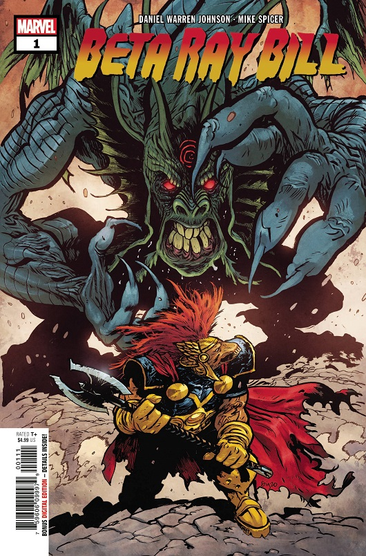 Cover of Beta Ray Bill #1
