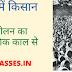 आधुनिक भारत में किसान आंदोलन